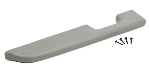 Mustang Door Armrest Pad for Manual Windows,LH Light Gray (87-93)