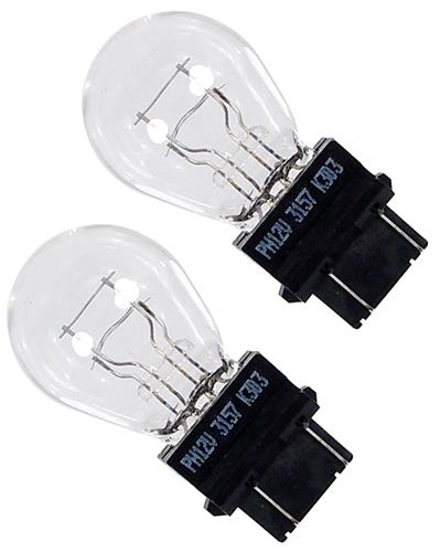 Mustang Stock Replacement Bulbs - 3157 (88-09)