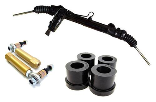 Picture of 1985-93 Mustang Power Steering Rack Kit, 5.0L Includes Bumpsteer Kit.