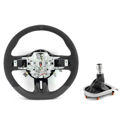 Mustang Shelby GT350 Steering Wheel & Shift Boot Kit  - w/o SYNC (15-17)
