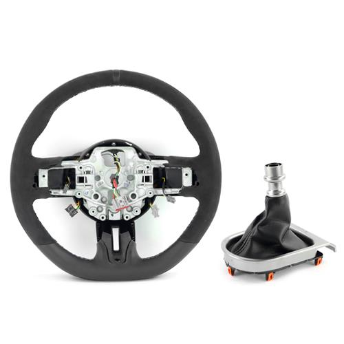 Mustang Shelby GT350 Steering Wheel & Shift Boot Kit  - w/ SYNC (15-17)