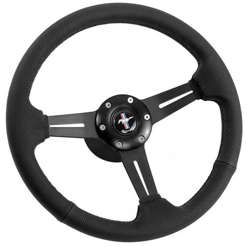 Mustang Steering Wheel - Off Road Black (79-82)