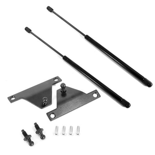 1979-1993 Mustang Hatch lift support struts & brackets kit