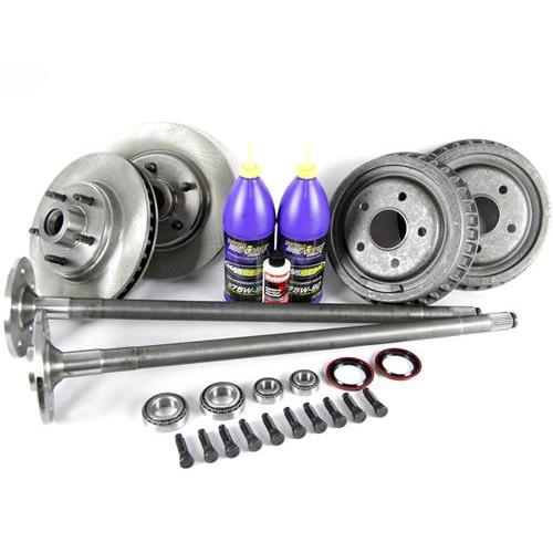 Mustang 5-Lug Conversion Kit - 28 Spline Axles (87-93)
