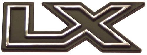NEW 1979-1993 FORD MUSTANG LX TRUNK DECKLID DECK LID OR DASH EMBLEM BADGE NEW