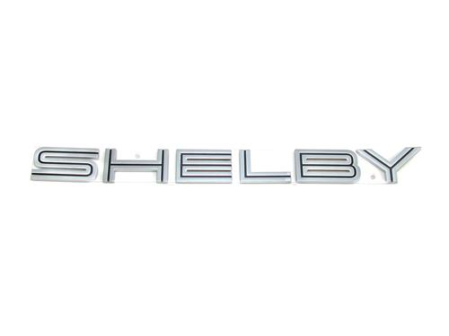 Mustang GT500 Shelby Name Plate Deck Lid Emblems (07-09) 3Z6342528B