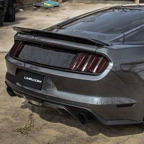 mustang gt350 track pack style spoiler bare 15 18 coupe. Black Bedroom Furniture Sets. Home Design Ideas