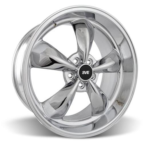 Mustang Bullitt Wheel - 20x10 Chrome (05-17)