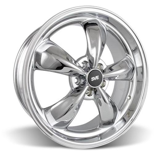 Mustang Bullitt Wheel - 20x8.5 Chrome (05-16)