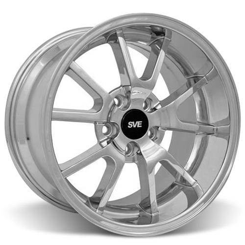 Mustang FR500 Wheel - 20x10 Chrome (05-16)