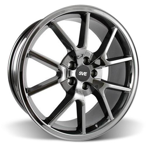 Mustang FR500 Wheel - 20x8.5 Black Chrome (05-16)