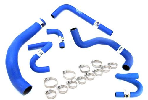 1994-95 Mustang Goodyear Super Hi-Miler Blue Hose & Clamp Kit