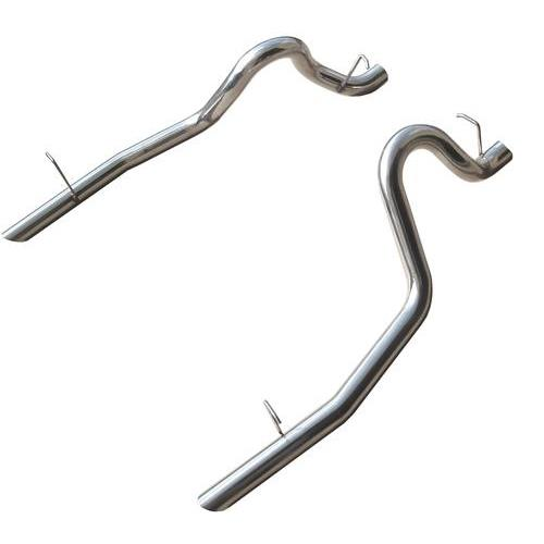 "Mustang 2.5"" Exhaust Tailpipes Stainless Steel  (86-97) LX"