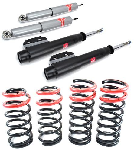 94-04 MUSTANG SVE LOWERING SPRINGS WITH KYB GAS-A-JUST SHOCK & STRUT KIT
