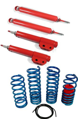Eibach Mustang Drag Launch Spring And Lakewood Drag Shock & Strut Kit (79-93) - Picture of Eibach Mustang Drag Launch Spring And Lakewood Drag Shock & Strut Kit (79-93)