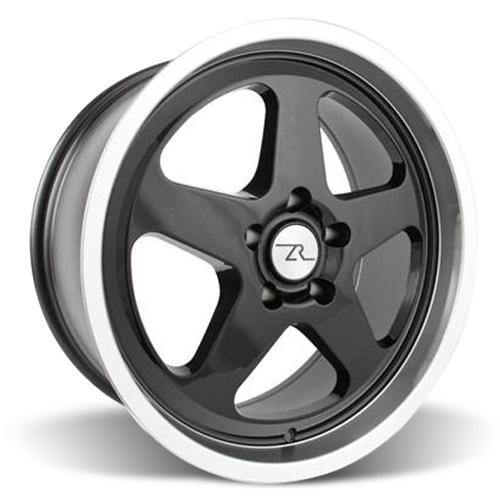 Mustang Saleen SC Wheel - 18x8.5 Black w/ Mirror Lip (94-04)