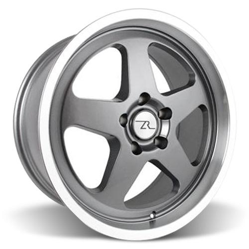 Mustang Saleen SC Wheel - 18x8.5 Gun Metal w/ Mirror Lip (94-04) - Mustang Saleen SC Wheel - 18x8.5 Gun Metal w/ Mirror Lip (94-04)