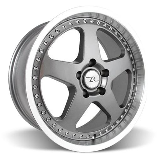 Mustang Saleen SC Wheel - 18x8.5 Gun Metal w/ Mirror Lip & Rivets (94-04)