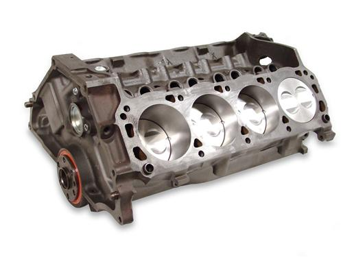 Mustang 5.0L 302  Short Block w/ Forged Pistons  - Accepts Roller Cam (79-95)
