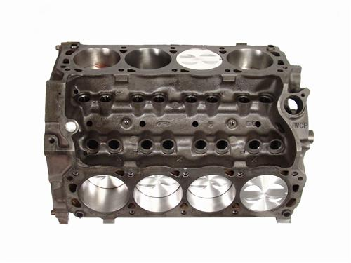 Mustang 5.0L 302  Short Block w/Forged Pistons Accepts Roller Cam (79-95)