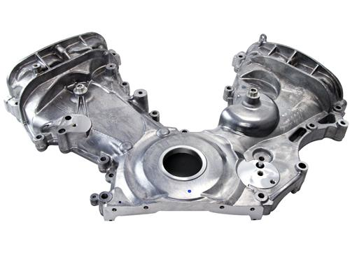 Mustang Timing Cover w/ A/C Tensioner Boss (11-14)