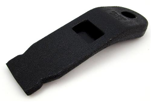 Mustang Front Seat Belt Buckle Sleeve Black (90-93) FOZZ-6161172-B