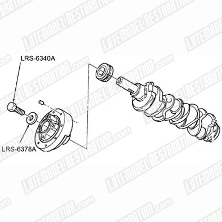 Mustang Crank Bolt & Washer Kit (96-04) 4.6 5.4