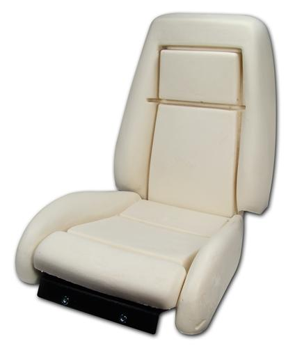 Mustang Seat Foam Sport Seats With Knee Bolster (90-91) 43-73706