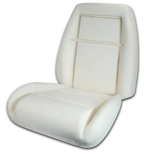 Mustang GT Seat Foam for Sport Seats Without Knee Bolster (1983)