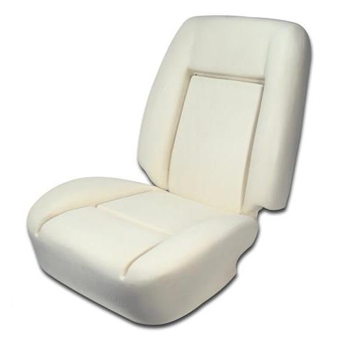 Mustang Front Seat Foam For Standard Low Back Seats Sold As Each (79-80) 43-73808