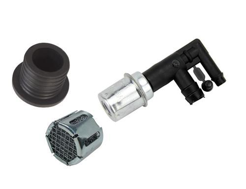 Mustang Pcv Valve Kit With Screen Grommet And Pcv Valve