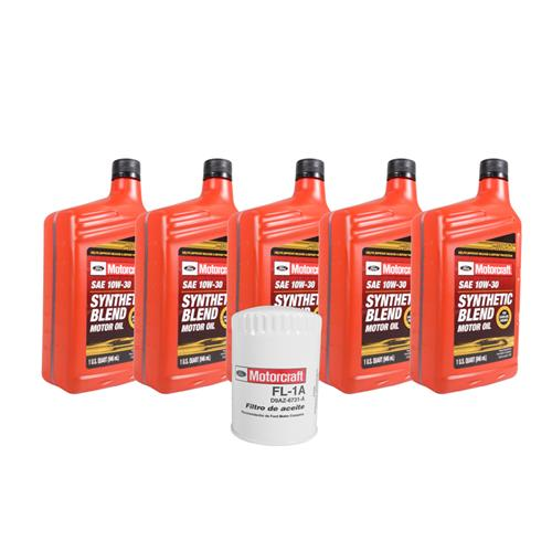 Motorcraft Mustang Oil Change Kit (79-95) 5.0 2.3