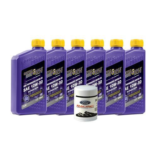 Mustang Royal Purple 5w-30 Oil Change Kit (94-00) V6 3.8