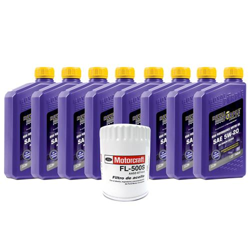 Royal Purple Mustang Oil Change Kit 5w-20 (11-14) 5.0L
