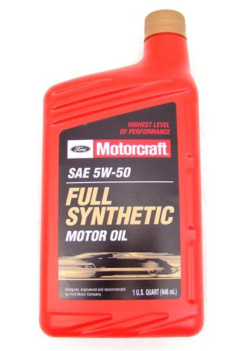 Motorcraft Mustang Oil Change Kit 5w-50 (12-13) 5.0L