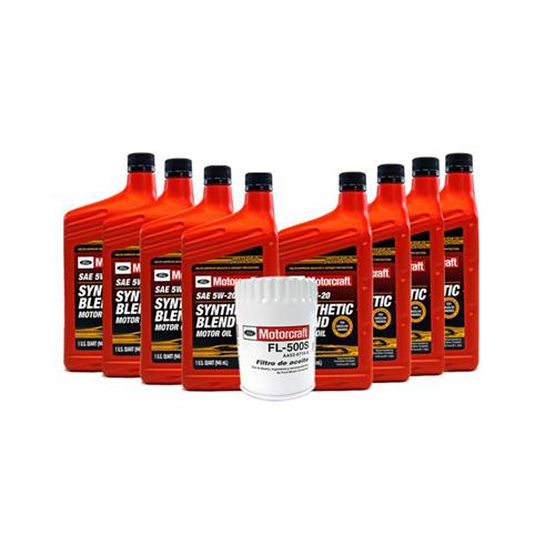 14 Mustang 5 0 Oil Capacity >> Motorcraft Mustang Oil Change Kit 15 17 Gt 5 0 Lmr