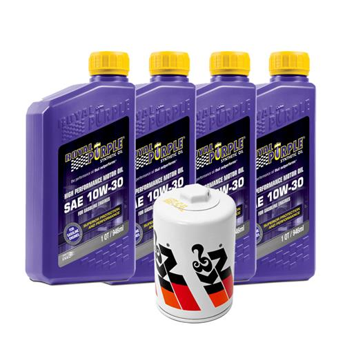 Mustang 10W-30 Royal Purple & K&N Oil Filter (79-95)