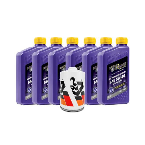 Mustang Royal Purple 5W-20 Oil & K&N Oil Filter (01-10) 4.6