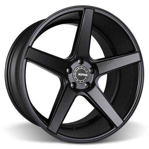KMC Mustang 685 District Wheel - 20x10.5 Satin Black (05-15)