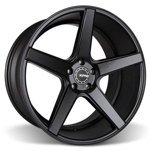KMC Mustang 685 District Wheel - 20x10.5  - Satin Black (05-17) KMC68520512745