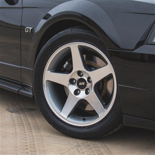 SVE Mustang 2003 Cobra Style Wheel - 17x9 - Machined (94-04)
