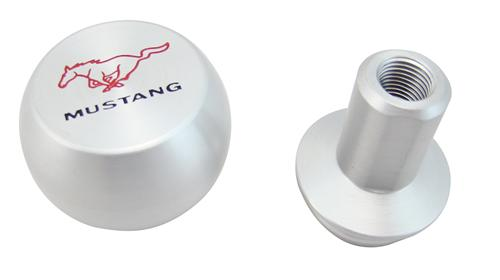 Mustang Shift Knob with Pony Logo Billet Aluminum (05-14)
