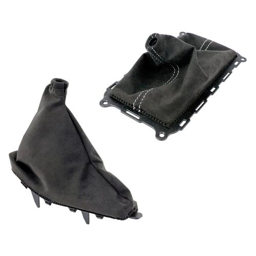 2010-14 Mustang Alcantara Shift boot/ Ebrake boot kit