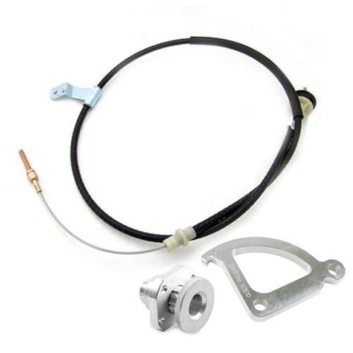 Mustang Adjustable Clutch Cable Kit (96-04) 4.6