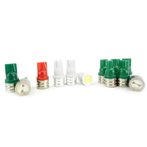 Mustang LED Instrument Cluster Bulbs Green (79-93)