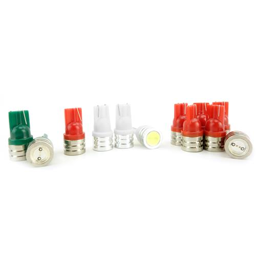 Mustang LED Instrument Cluster Bulbs Red (79-93)