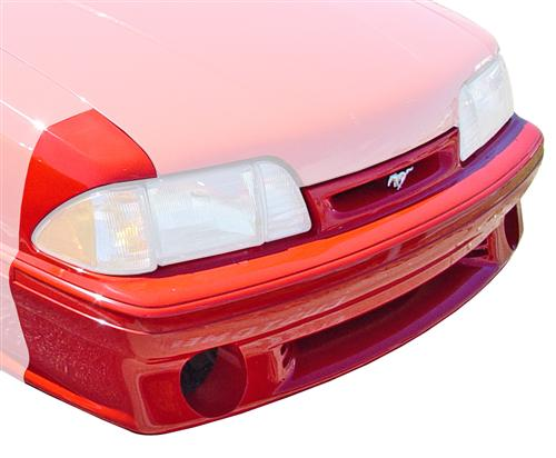Mustang 93 Cobra Style Front Bumper Cover Kit (87-93)
