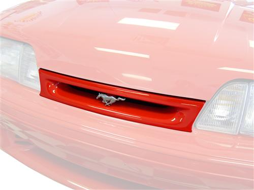 Mustang 93 Cobra Grille Insert Kit  - Chrome Emblem (87-93)