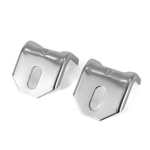 Mustang Headlamp Reinforcement Panel To Core Support Brackets (79-93)