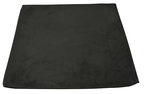 Mustang Suede Headliner w/ ABS Board Black  (85-92) Hatchback